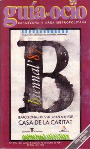 BIENNALE_1987_Barcelona_Programm