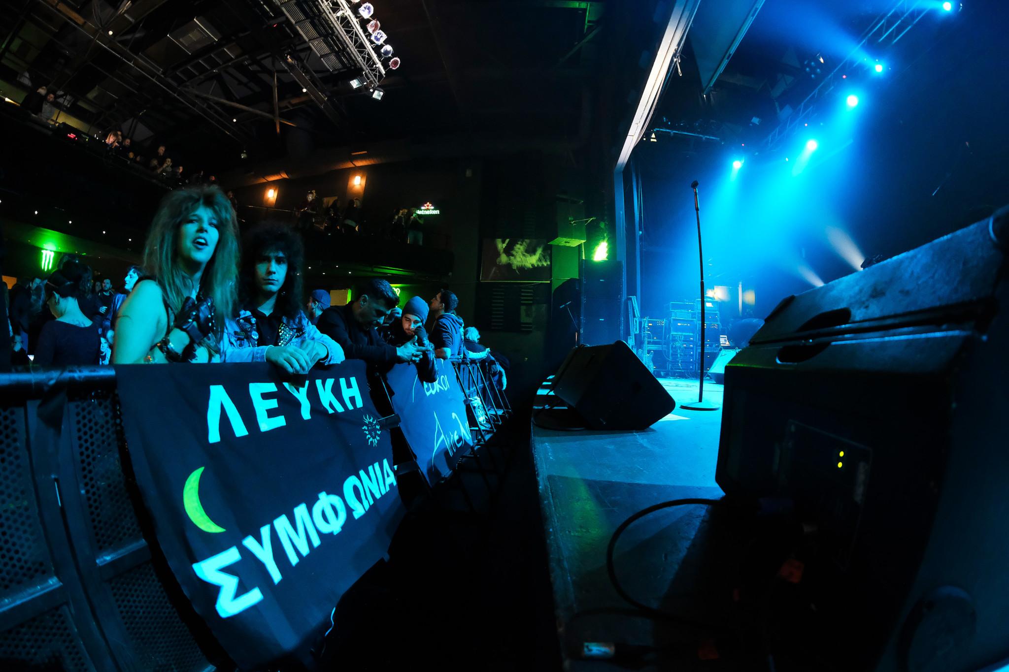 Lefki Symphonia Live At Gagarin 205 Athens 7.12.2018 photos by Miltos Kostoulas
