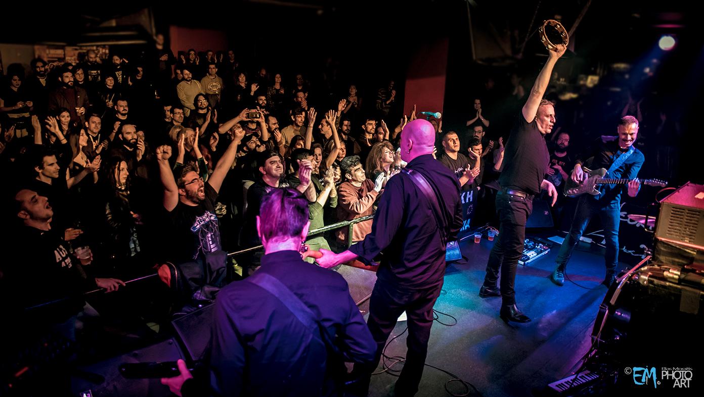 Lefki Symphonia Live At AN Club Athens 26.01.2019 photos by Elias Moraitis
