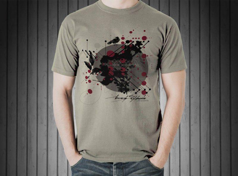 lefki_symphonia_limited_edition_raven_tshirt_kaki